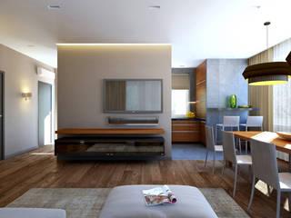 Salas de estar minimalistas por lab21studio