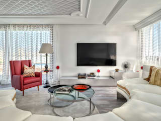 Media room by Viterbo Interior design