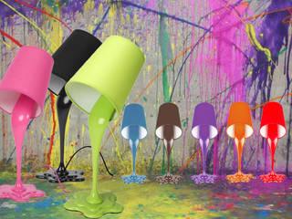 Die Farbeimerlampe von Kramsen.com Ausgefallen