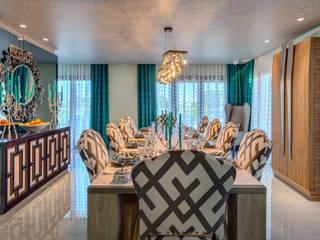 City Exquisite Salas de jantar ecléticas por Viterbo Interior design Eclético
