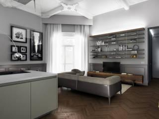 AUS 01 Apartment no.4 in Turin 3Dedintorni WohnzimmerSofas und Sessel