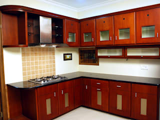 Krishnakumar Residence Classic style kitchen by dd Architects Classic