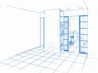 Plusieurs vie pour un appartement par Kauri Architecture Moderne