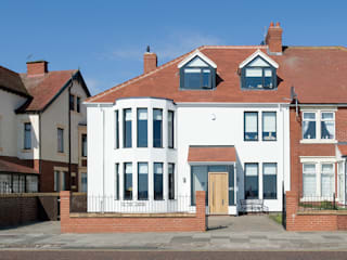 The Links, Whitley Bay Modern houses by xsite architecture LLP Modern