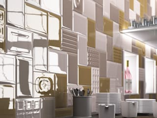 Azulejos Peña s.l. ห้องครัว กระเบื้อง Multicolored