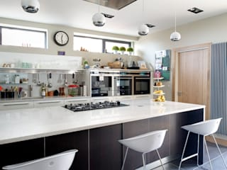 The Links, Whitley Bay:  Kitchen by xsite architecture LLP