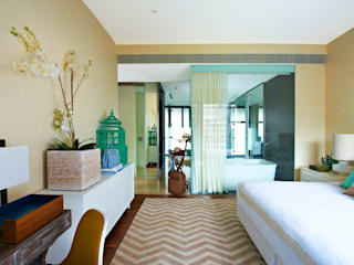 Bedroom by Viterbo Interior design, Eclectic