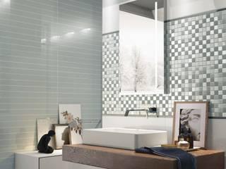 Decoración para la sala de baño: Baños de estilo  de Azulejos Peña s.l.