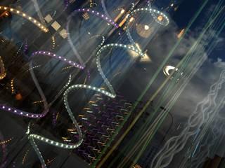 Showroom Iluminación & Formas Espacios comerciales de estilo moderno de FrAncisco SilvÁn - Arquitectura de Interior Moderno