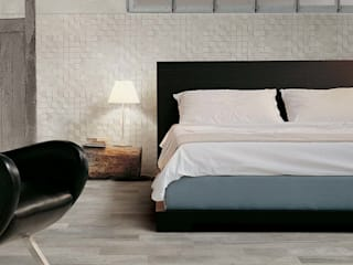Suelos confortables, agradables al tacto Dormitorios de estilo industrial de Azulejos Peña s.l. Industrial