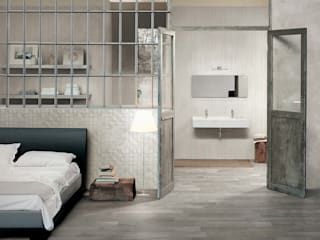 Azulejos Peña s.l. ห้องนอน กระเบื้อง Beige