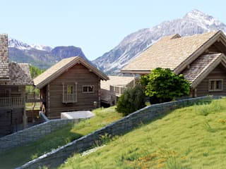 Projekty,  Domy zaprojektowane przez 3Dedintorni