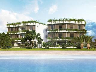 Rendering di intervento residenziale ad Andora: Case in stile in stile Moderno di 3Dedintorni