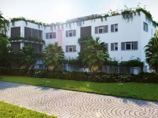 Rendering of residential building in Andora 3Dedintorni Moderne Häuser