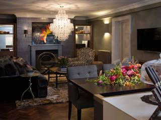 غرفة المعيشة تنفيذ Roselind Wilson Design