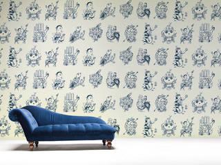 Papeles pintados de Sergio Mora THE WALLERY Paredes y suelosPapeles pintados Azul