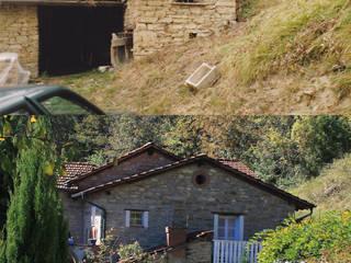 mộc mạc  theo Naro architettura restauro       'Dein Landhaus im Piemont', Mộc mạc