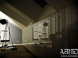AS-MEB Minimalist study/office MDF White