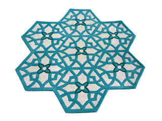 Hexa rug collection de Maria Starling Design Ecléctico