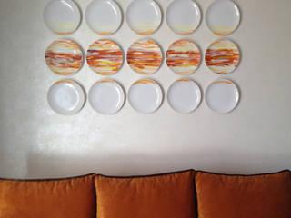 Salas de estar escandinavas por Порядок вещей - дизайн-бюро Escandinavo