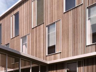 Modern houses by de-cube Modern