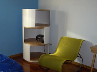 Renato Fernandes - arquitetura Nursery/kid's roomStorage Wood White