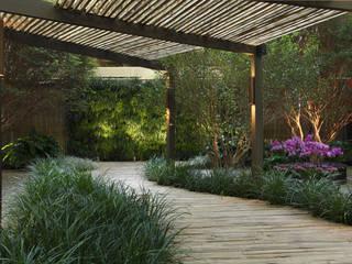 BAMBU CARBONO ZERO Jardines de estilo minimalista Bambú