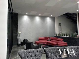 VIVAinteriores Living room Grey