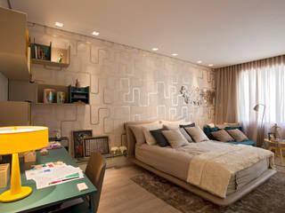 Dormitorios de estilo moderno de Interiores Iara Santos Moderno