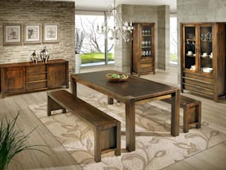 Salas de Jantar - Móveis e Acessórios por Sun House Móveis e Decorações Moderno
