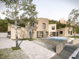 Graph Visual Studio Mediterranean style house