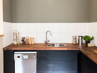 Adeline Labord Interiors Minimalist kitchen Wood Green