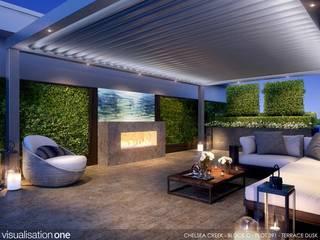 Chelsea Creek London Penthouse Roof Terrace (St George PLC) by Aralia Сучасний