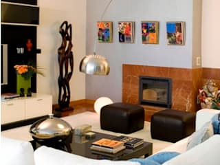 Apartamento de sonho para uma família Feliz em Lisboa Salas de estar modernas por Andreia Marques Designer de Interiores Moderno
