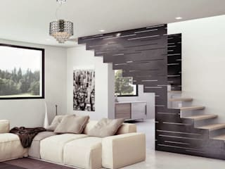 Modern Living Room by Class Iluminación Modern