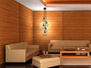 Lámparas-Fotoambientes Class Iluminación Moderne Wohnzimmer
