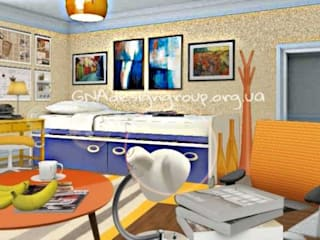 Nursery/kid's room by GNAdesigngroup, Modern