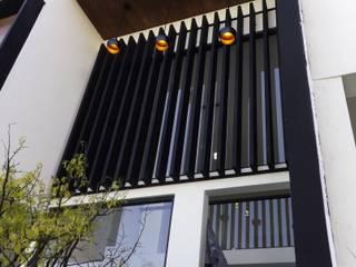 PASEO DE LAS CORDILLERAS 11, lomas de angelopolis: Casas de estilo moderno por bageti proyectos