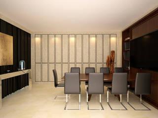 Sala de Juntas de Taller 03 Moderno