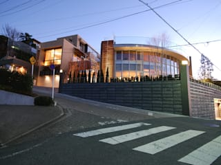 River Views House モダンな 家 の 株式会社 中村建築設計事務所 モダン