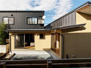 一本木の家(増築) 大類真光建築設計事務所 モダンな 家