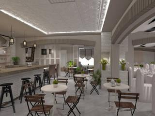 Cafe and restaurant design от Дизайн-студия HOLZLAB Классический
