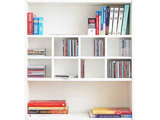 Billy Regaleinsatz in weiß: skandinavische Arbeitszimmer von NSD New Swedish Design GmbH