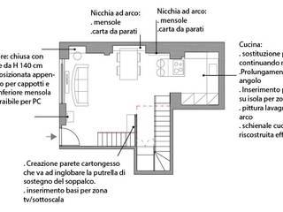 progetti: Case in stile in stile Moderno di Azzurra Lorenzetto-maydaycasa