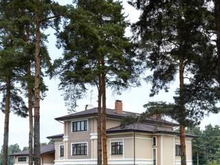 Особняк в п.Расторгуево, МО:  в . Автор – Kisliakova Elena Interiors,