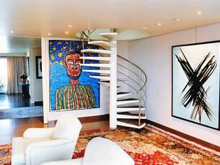 ARC et SENS Pasillos, vestíbulos y escaleras de estilo moderno