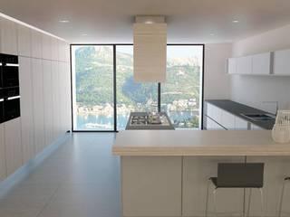 Vivienda Pto. Andratx Lendworks Cocinas de estilo moderno