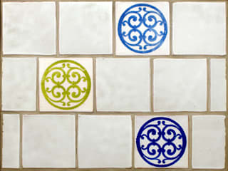 Contemporary Earthenware Tile Range:   by Deiniol Williams Ceramics