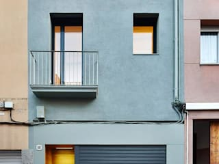 Casas minimalistas por Vallribera Arquitectes Minimalista