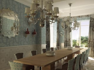 Dining room by GUNNI & TRENTINO